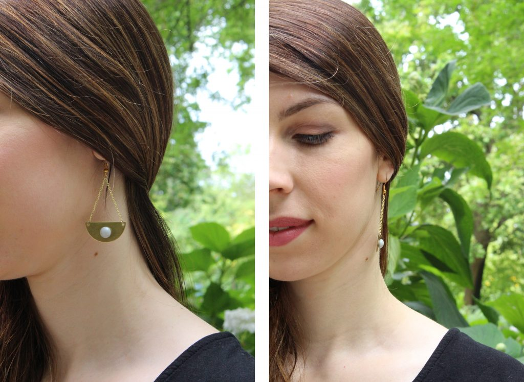 boucle d'oreille made in camille