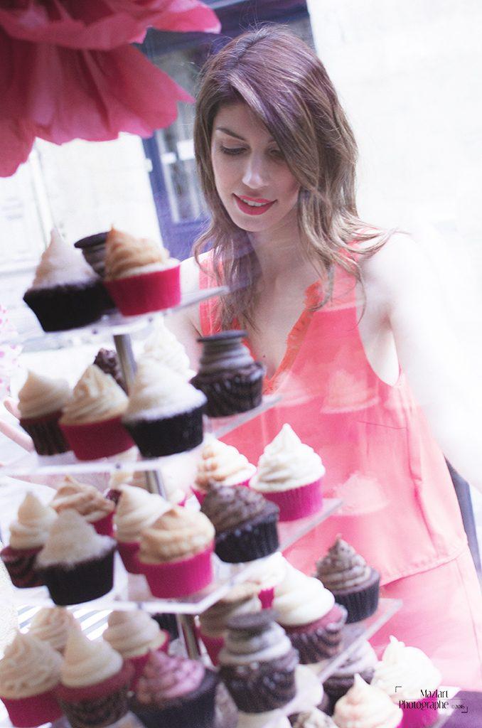 Boutique cupcakes bordeaux