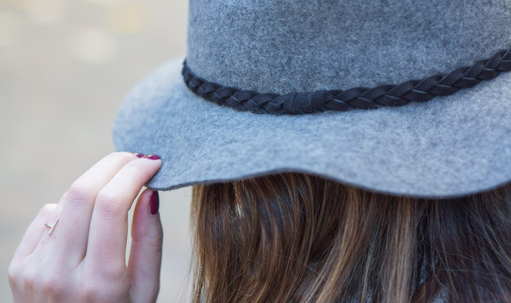 Blog mode Perfecto rose daim et chapeau Morgane Pastel