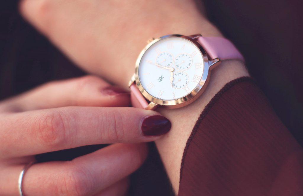 montre rose gold