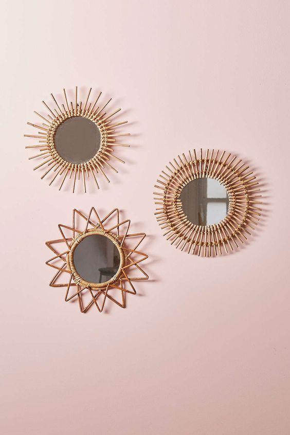 accumulation miroir deco