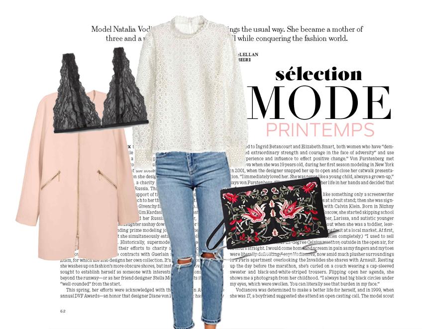 selection shopping printemps mode