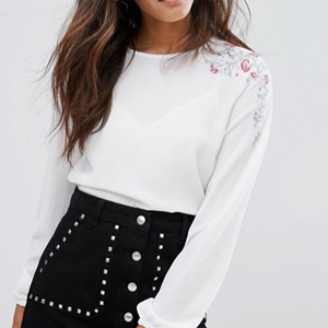 blouse brode