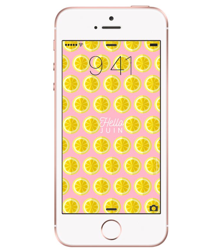 fond ecran iphone 6 juin 2017