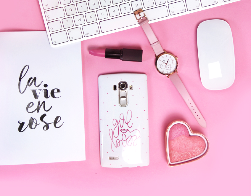 girl boss_coque telephone rose