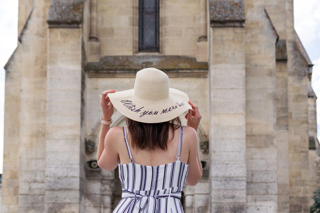 chapeau ete plage