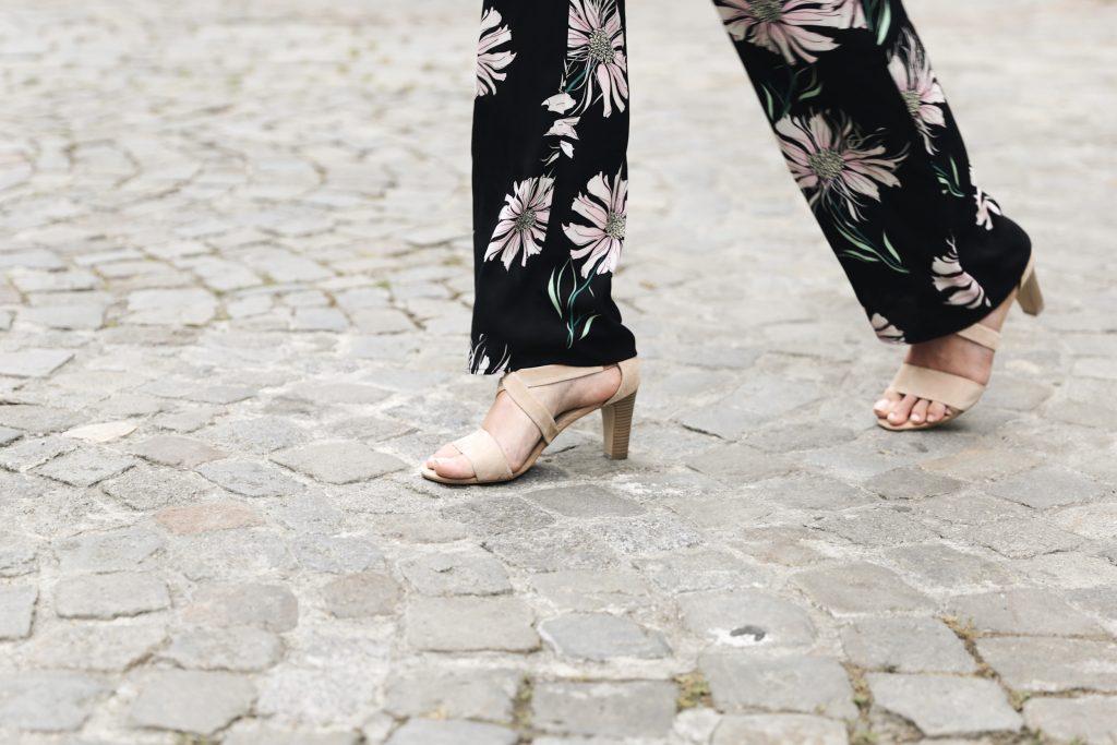 sandales a talons nude zalando