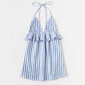 robe bleu shein