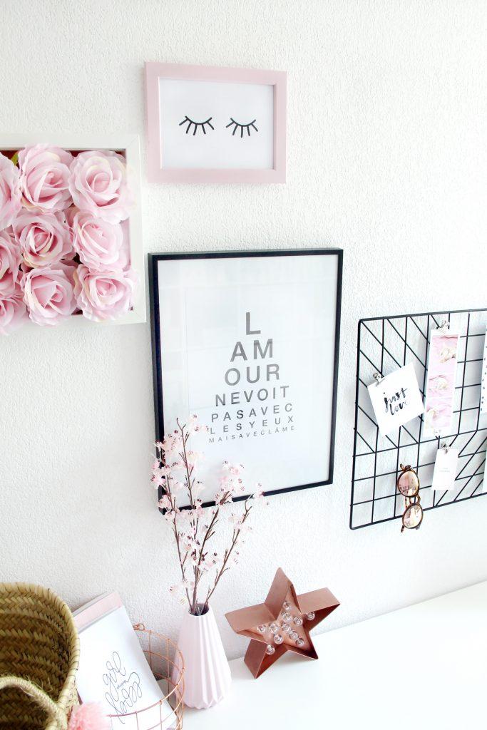 decoration bureau fille