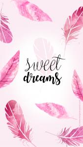fond d'écran sweet dreams plume