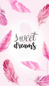fond d'écran sweet dreams plumes