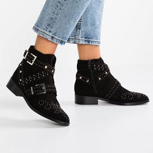 boots cloutes noir