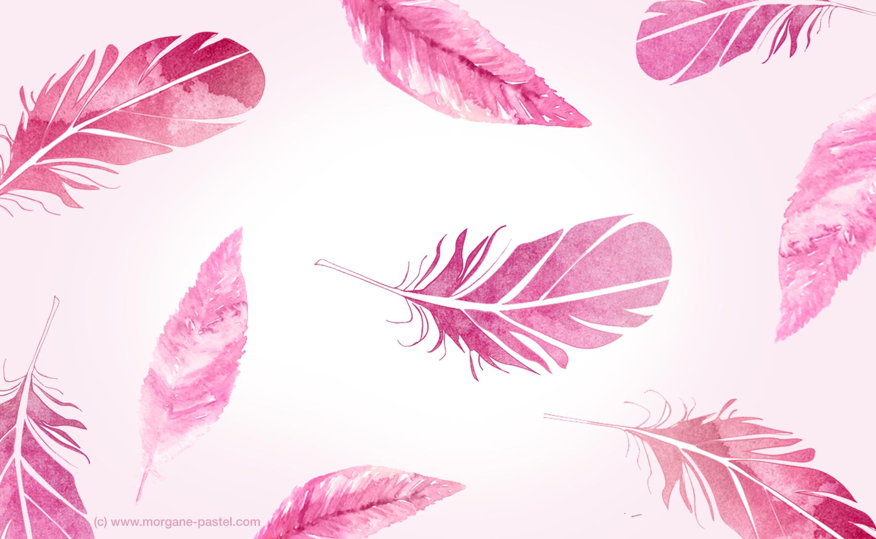fond-ecran-plume-girl-free-download