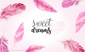 fond d'écran sweet dreams ordinateur