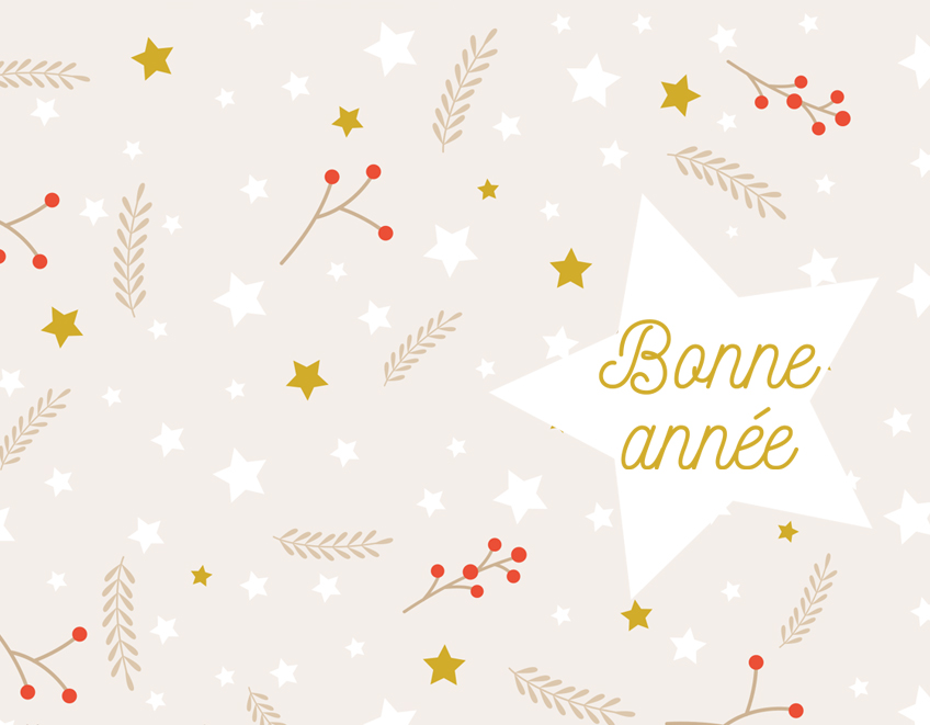 fond ecran bonne annee 2018