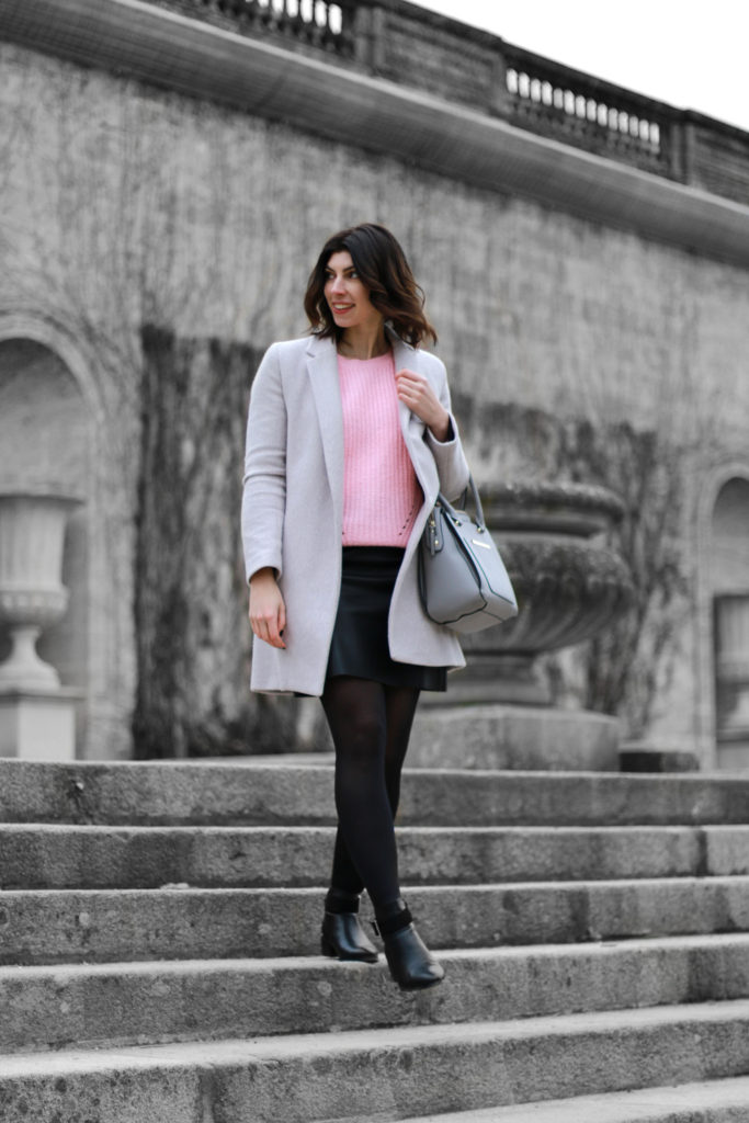 look blog manteau gris doudou