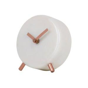 horloge de table marbre