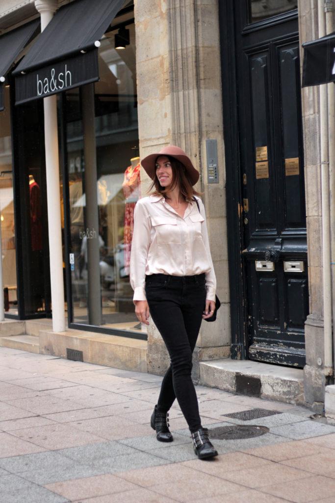 look working girl automne bordeaux
