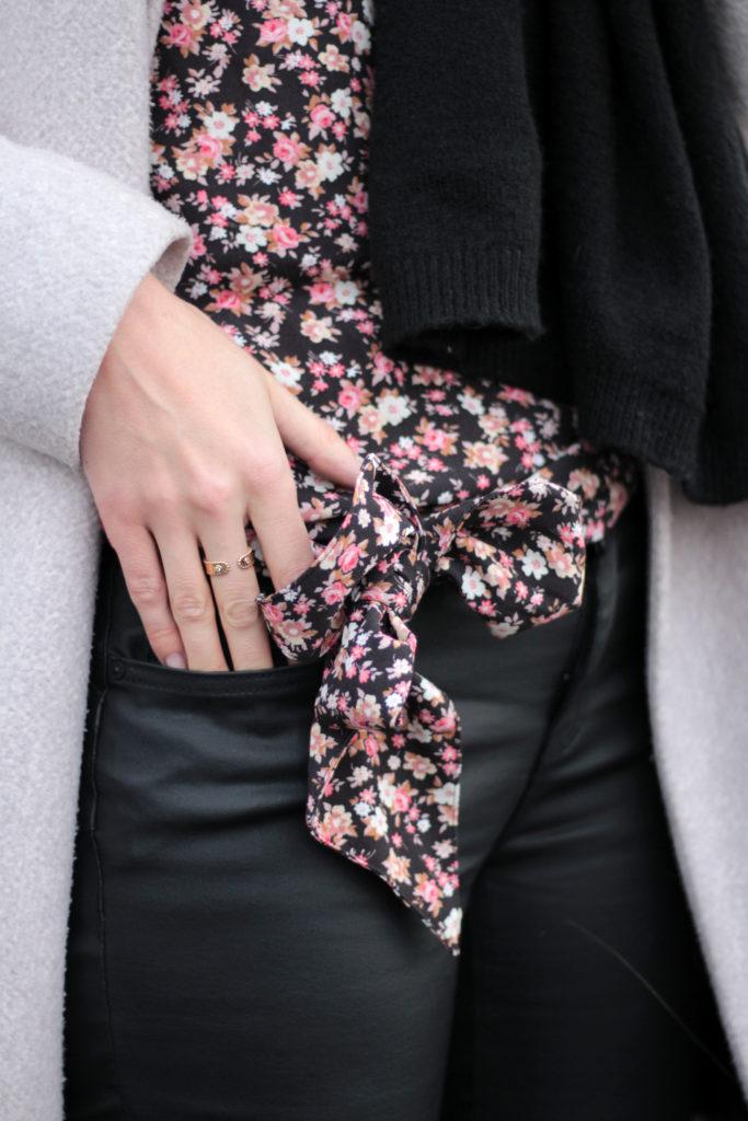 blouse imprimée fleuri