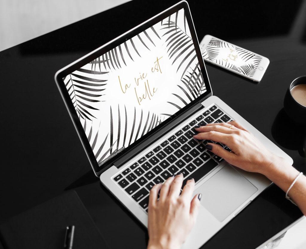 graphiste freelance fond d'écran ordinateur
