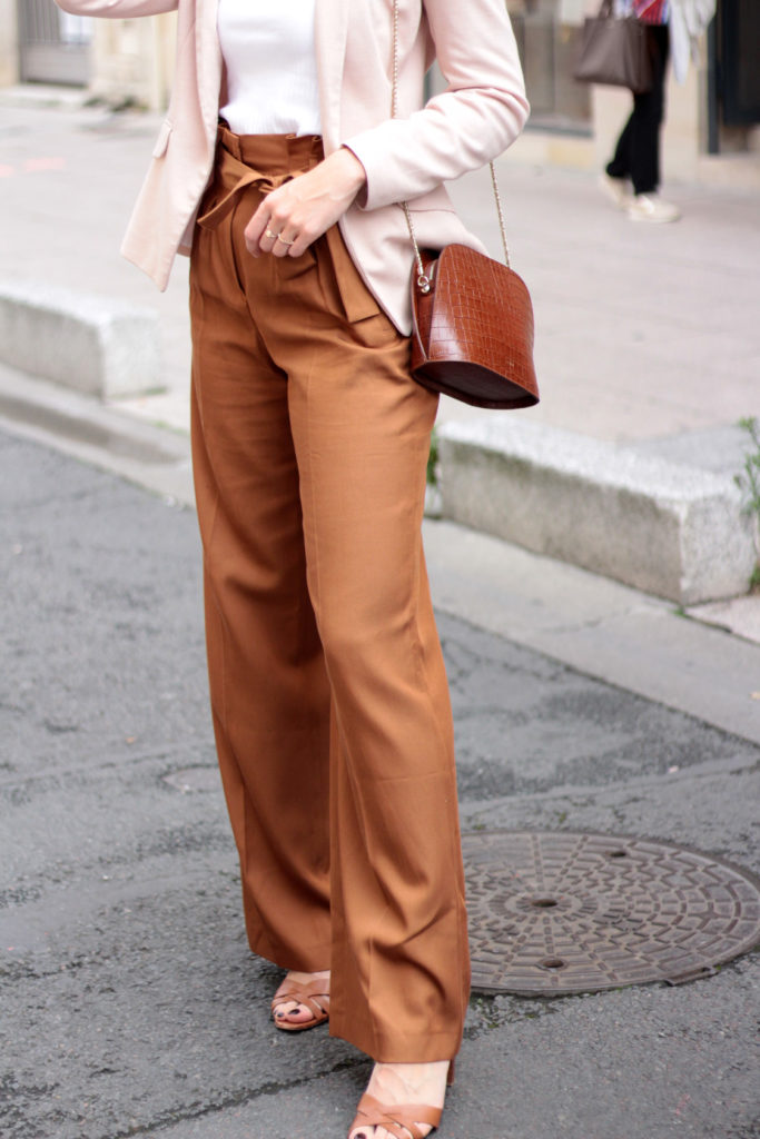 pantalon large sezane printemps