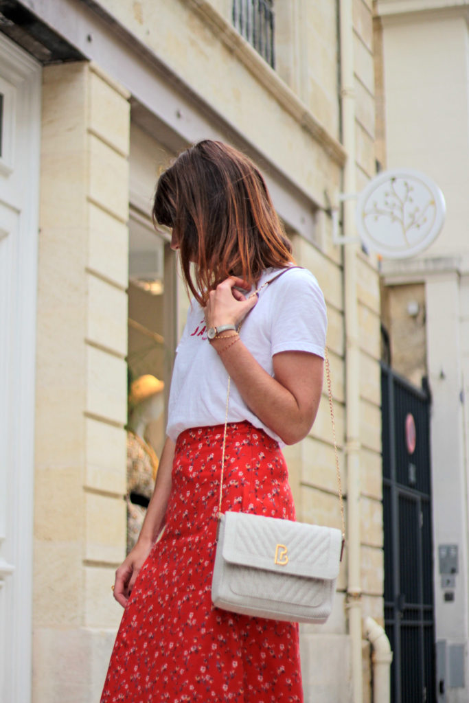 blogueuse bordeaux look