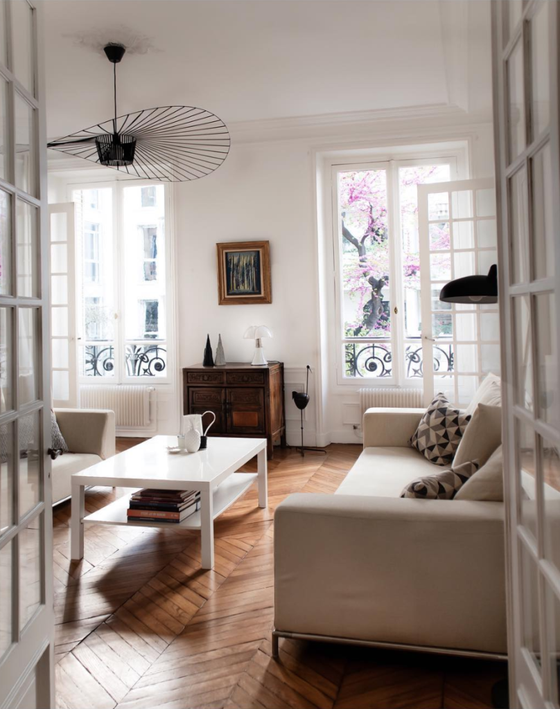 appartement chic moderne parisien
