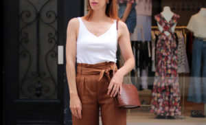 pantalon large sezane