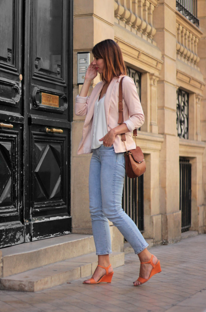 look blogueuse jean crop