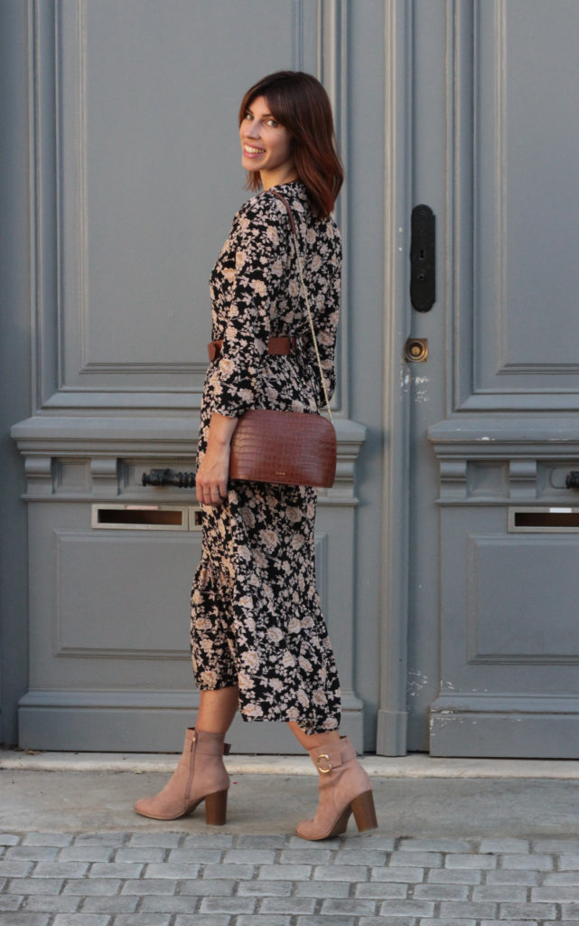style look automne robe longue