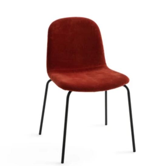 chaise velour