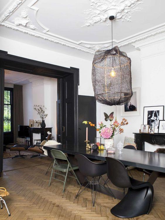 appartement chic parisien