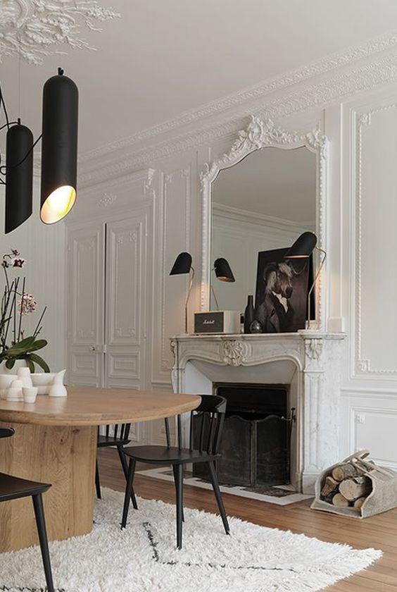 appartement deco chic parisien