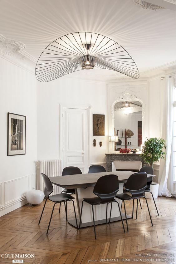decorer un appartement haussmanien chic