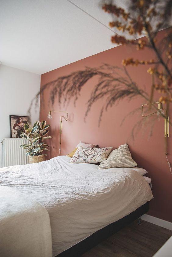Chambre à coucher décoration moderne