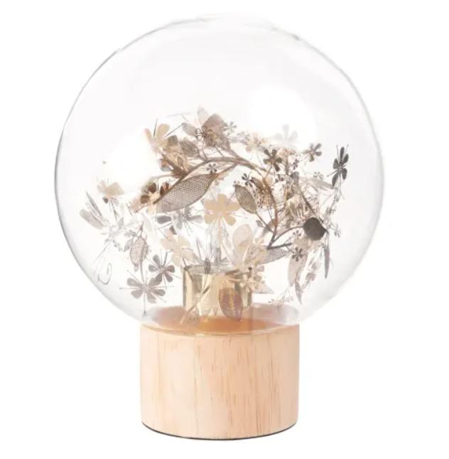 lampe boule en verre