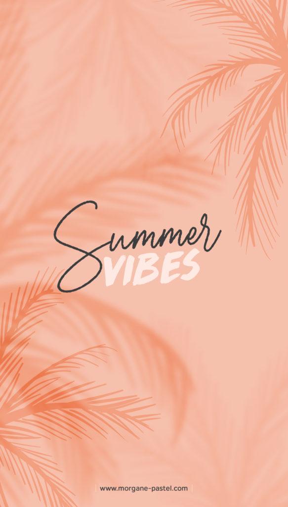 fond d'écran gratuit Summer Vibes tropical