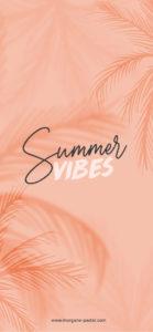 fond ecran summer vibes iphone X
