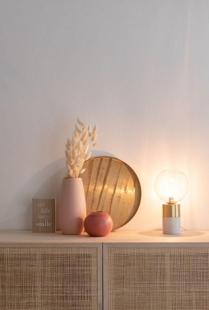 lampe béton