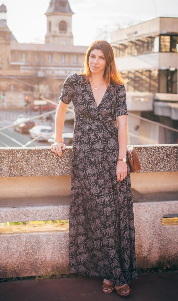 robe longue tropical ba&sh