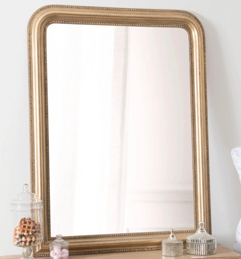 miroir dore chic