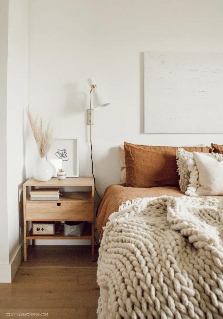 chambre cosy naturelle