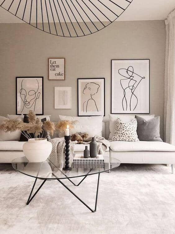 Comment décorer un salon cosy