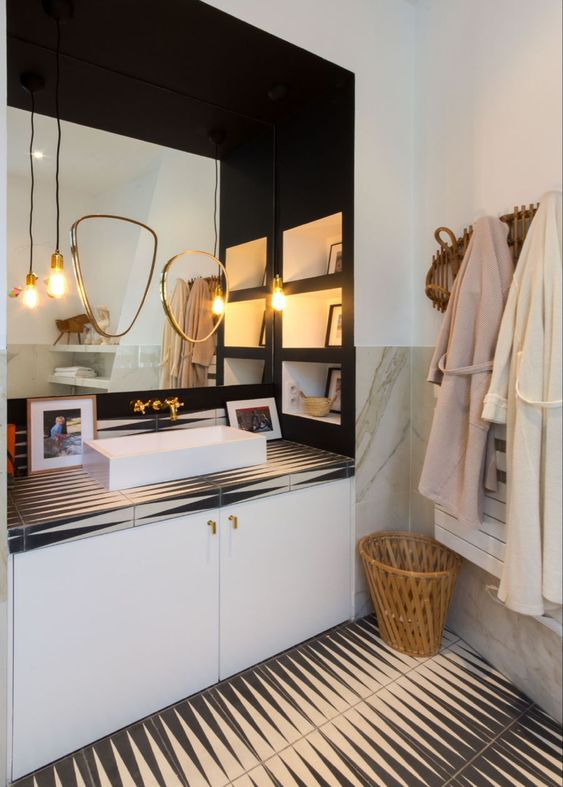 deco salle de bain moderne inspiration
